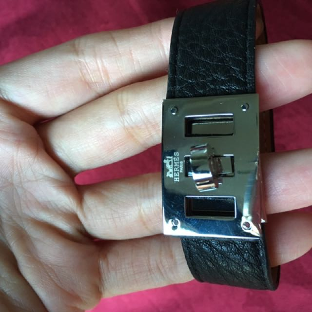 Hermes Large kelly Bracelet