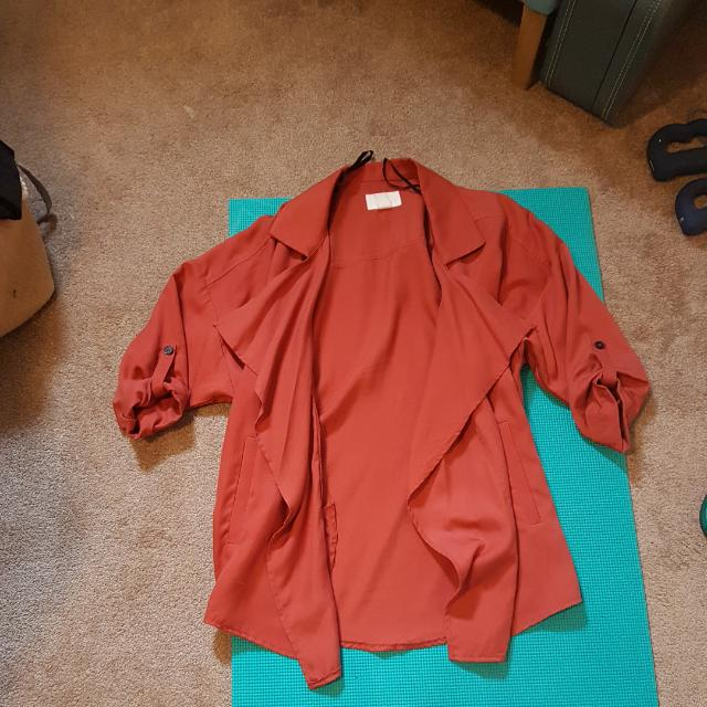 H&M Dark Tan Shal. Size S But Could Fit Medium