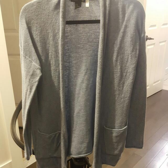 H&M  Powder Blue Knit Cardigan
