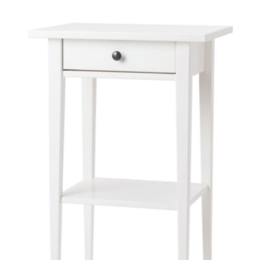 IKEA HEMNES Bedside Table in White