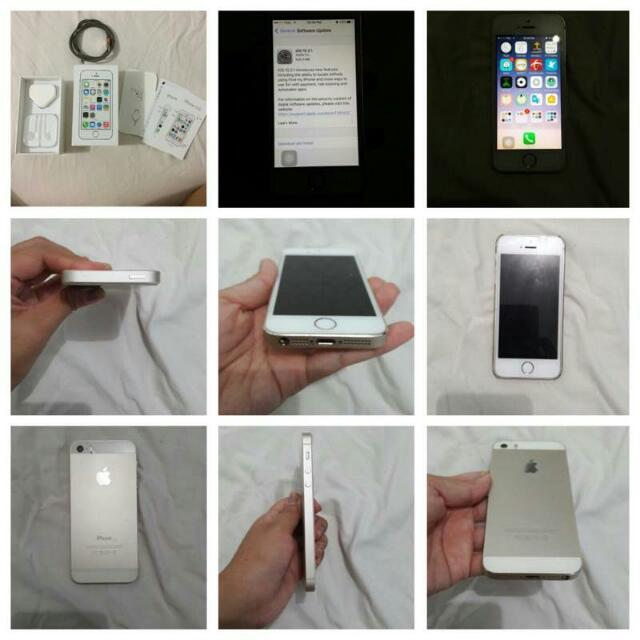 Iphone 5s Gold 32gb.