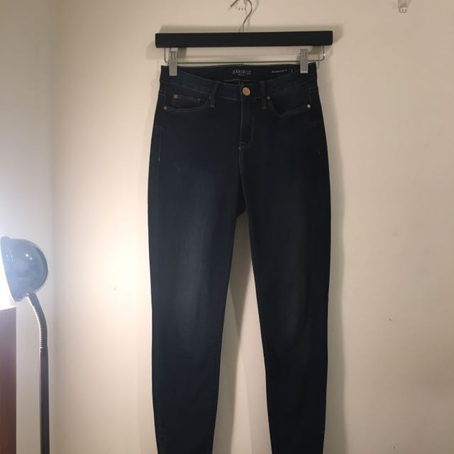 Price Drop!! 8 - Jeans High Waisted Curvy Fit 7/8 Length