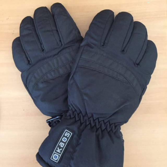 KAOS SNOW GLOVES, SIZE SMALL