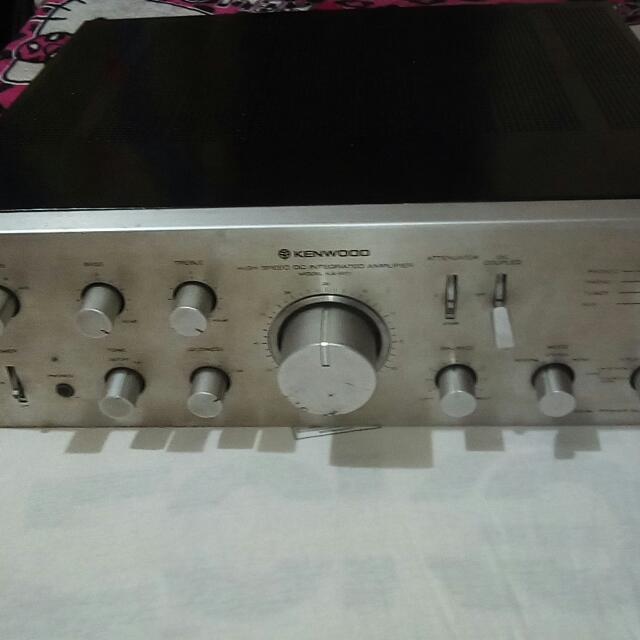 Kenwood KA601 Integrated Amplifier