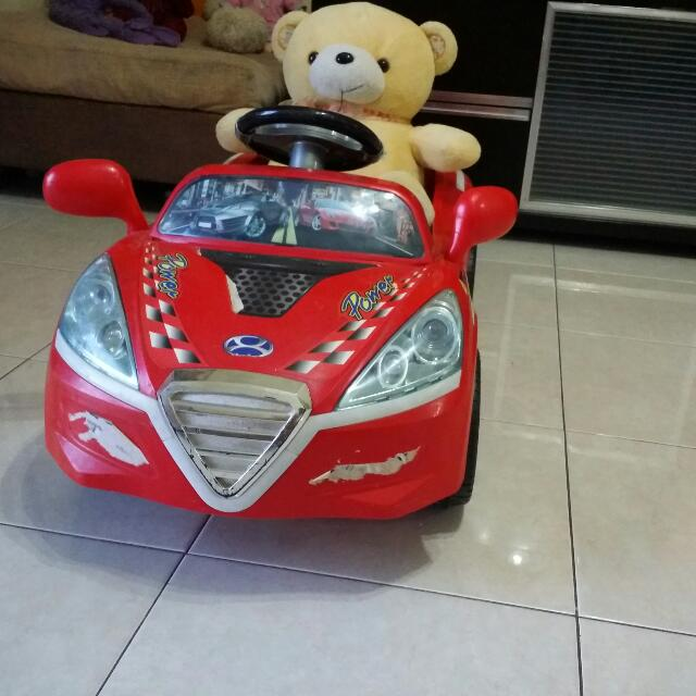 Kids Car, Rechargeable Battery