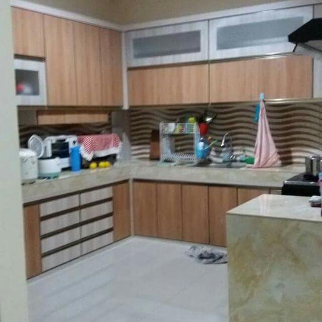 Kitchen Set Minimalis Dan Modern Bahan Multiplek Dan Hpl Siap
