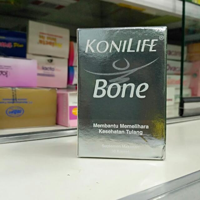 Konilife Bone Dari Kalsium Algae(Organik) Dan Kombinasi Vit.D,Magnesium Dan Zinc Yg Bisa Memelihara Kesehatan Tulang,,