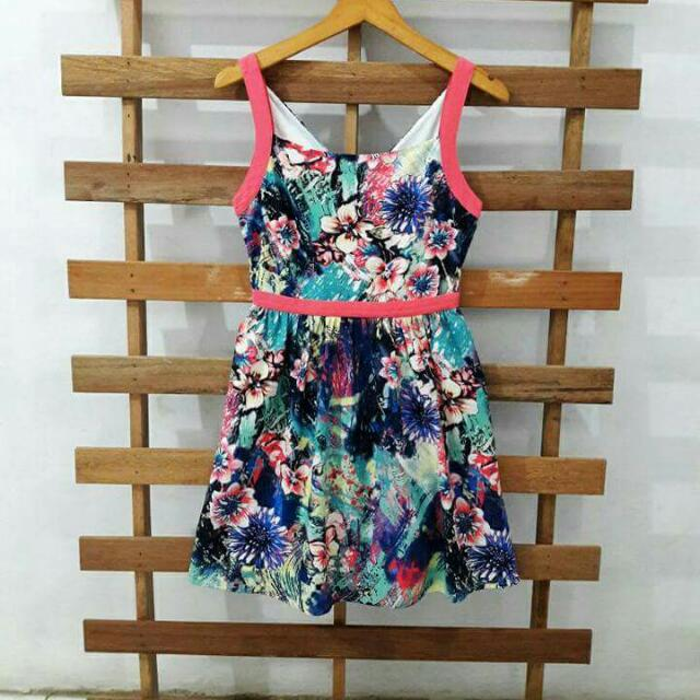 korean flower dress