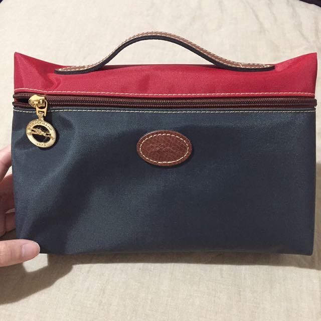 Longchamp 化妝包/袋中袋/小提包