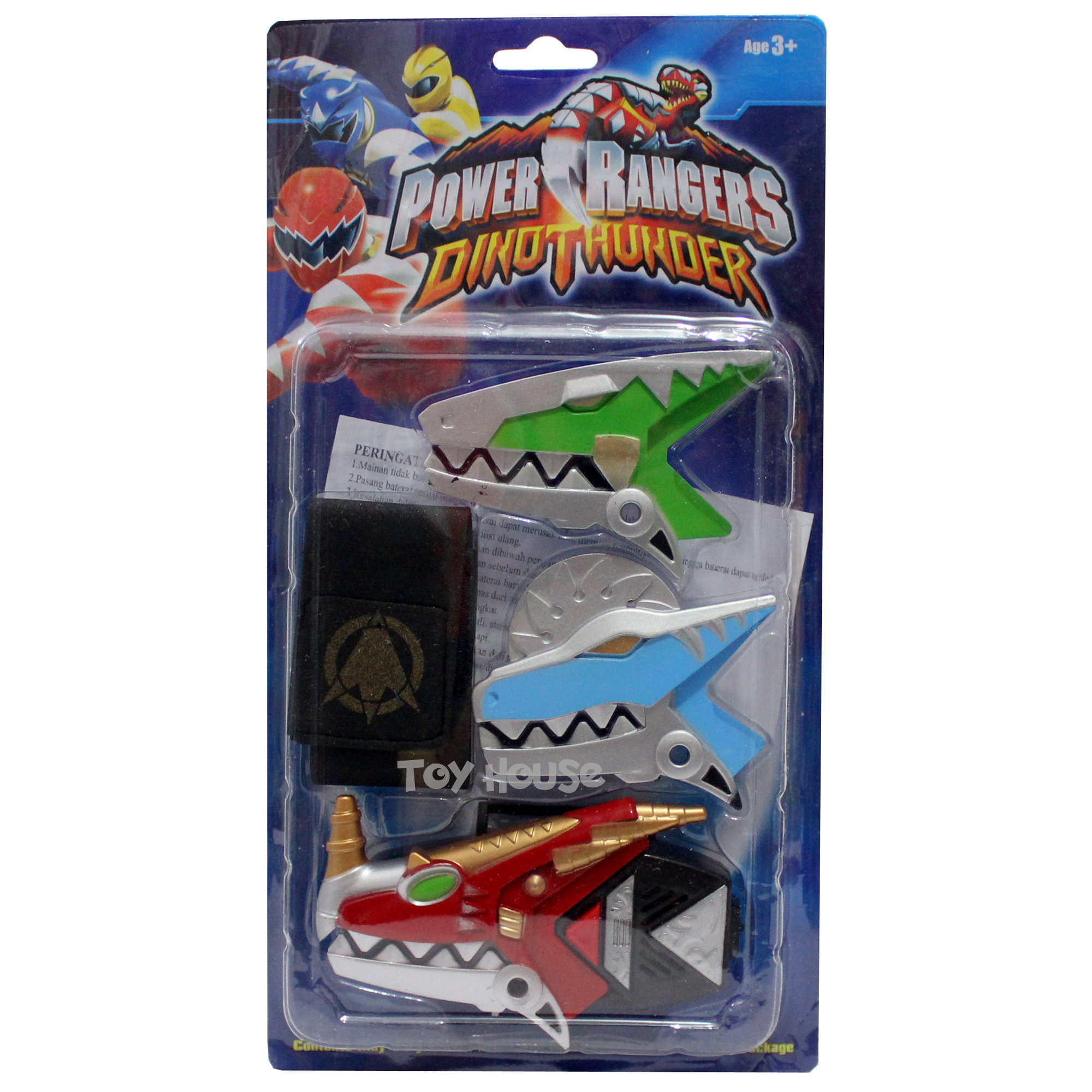 Mainan Gelang Perubahan Power Rangers Dhino Thunder Bayi & Anak Mainan Anak & Bayi di Carousell