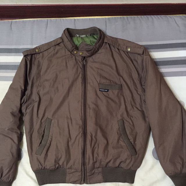 Members Only Corduroy Racer Jacket