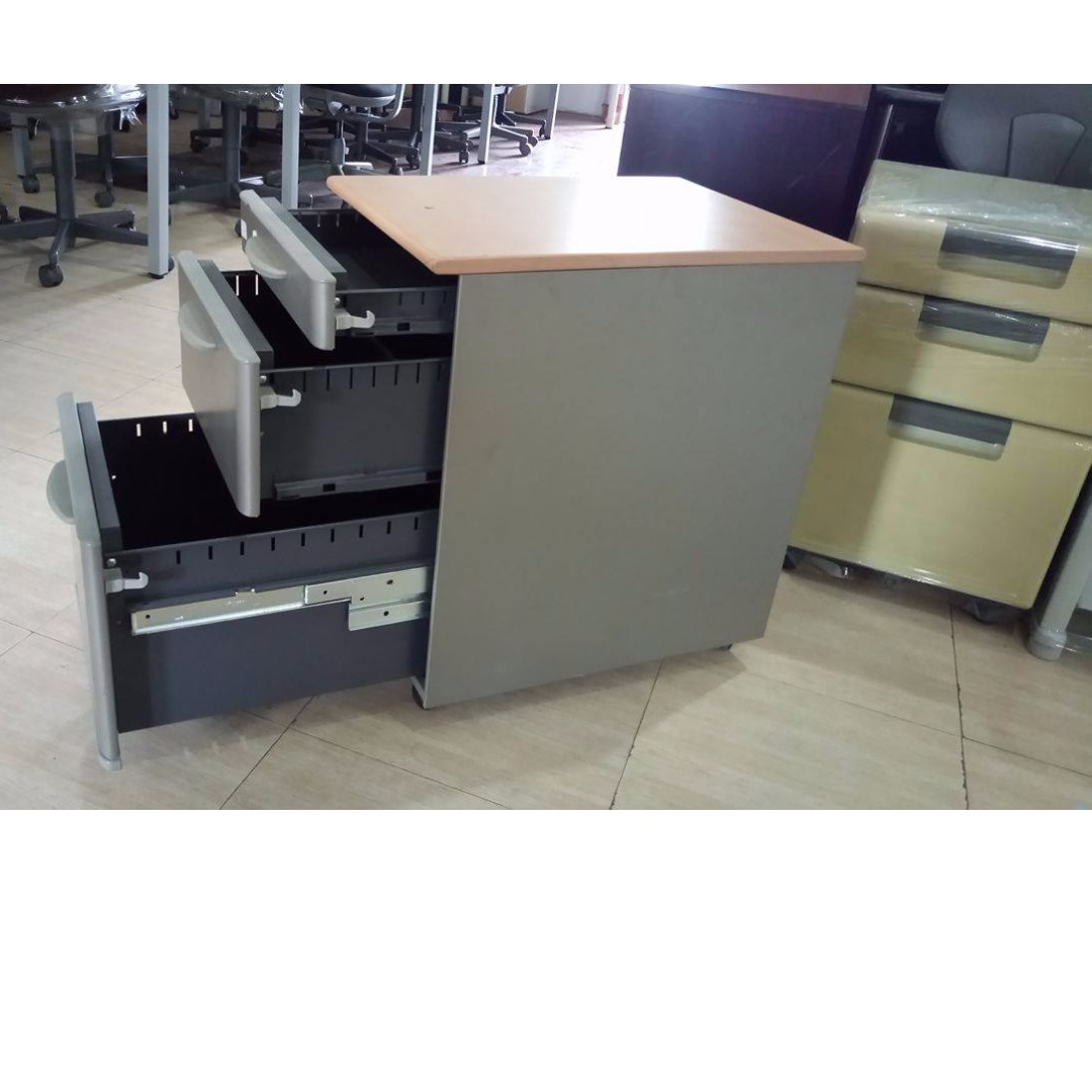 Mobile cabinet 3 drawers sidewagon japans surplus office furniture home furniture on carousell