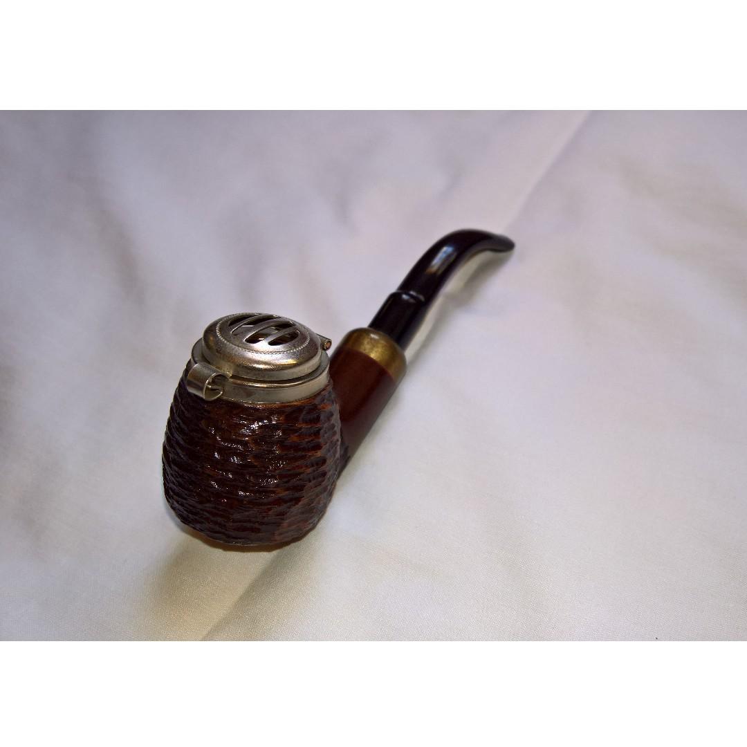 Mr. Brog Smoke Pipe - Old Army No 21 - Pear Wood Root - Hand Made (NEG)