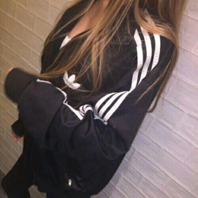 NOT authentic adidas spray jacket