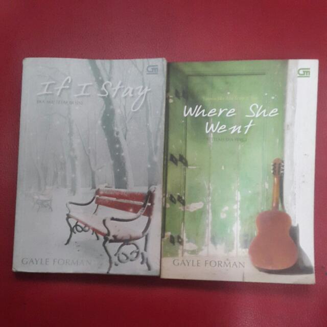 Novel IF I STAY + WHERE SHE WENT