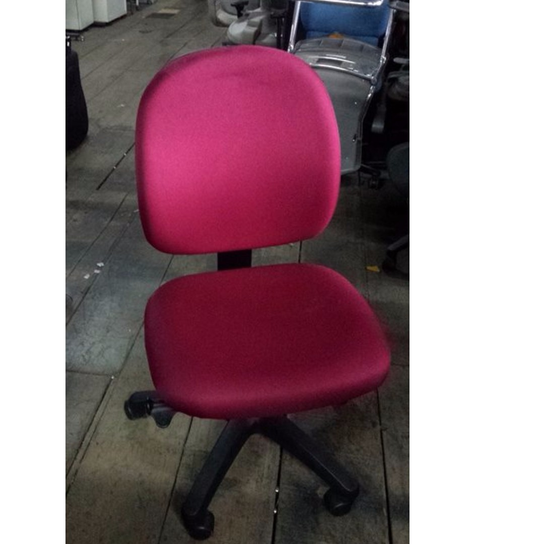 Office chair w wheels no arm japans surplus office furniture home furniture on carousell