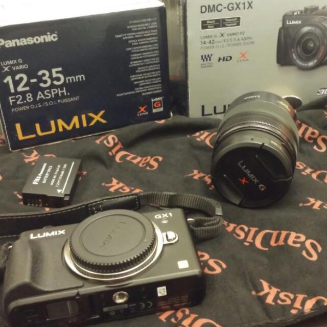 Panasonic DMC-GX1和LUMIX G X VARIO 12-35mm F2.8 ASPH OIS