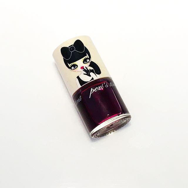 韓國Peripera 超水潤唇露 口紅 莓果紅紫色 酒紅
