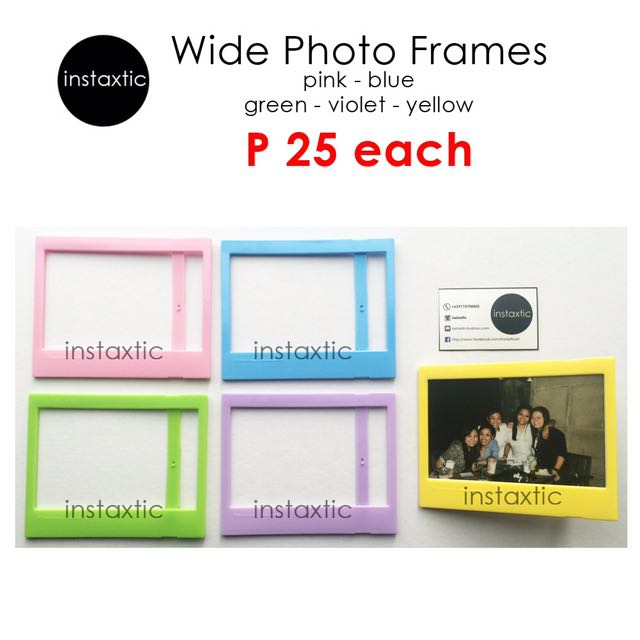 Plastic Frame For Instax Wide Print