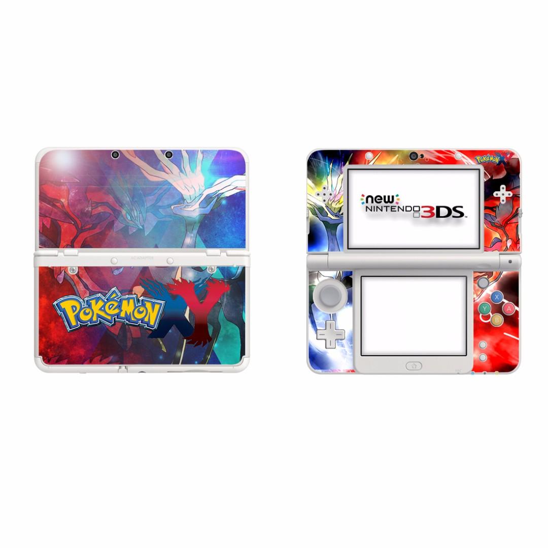 全新Pokemon New Nintendo 3DS 保護貼 有趣貼紙 全包主機4面