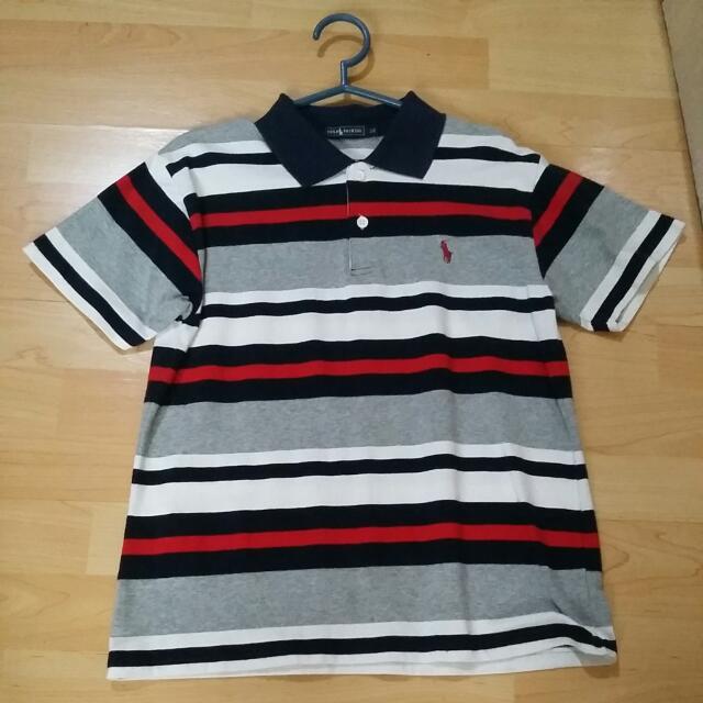 POLO FASHION Striped Polo Shirt For Teens