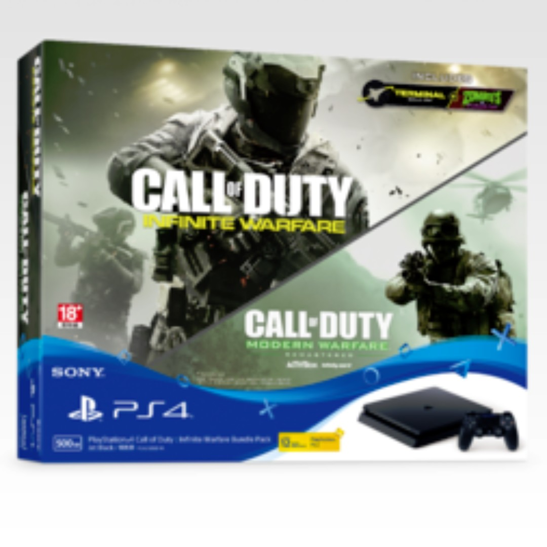 Ps4 500gb Call Of Duty Infinite Warfare Bundle Playstation 4 Game Gaming Console Toys Games Video Accessories On Carousell