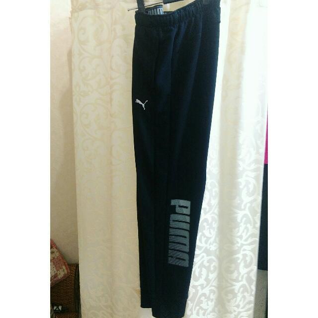 Puma 黑棉褲(男)