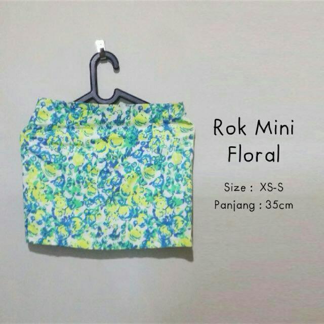 Rok Mini Floral