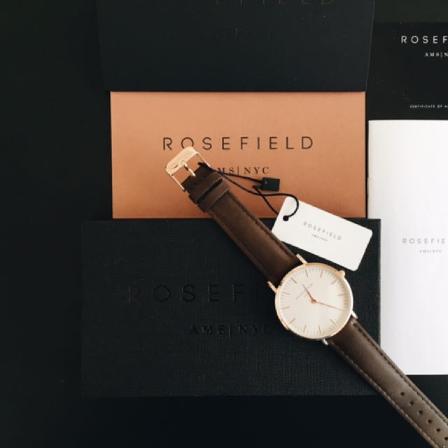 ROSEFIELD Watch/ Brand New