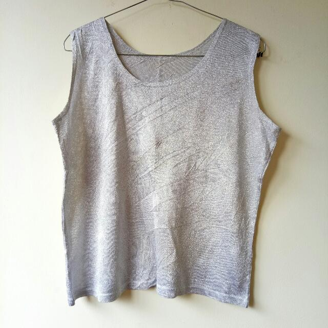 Silver Top, Blouse