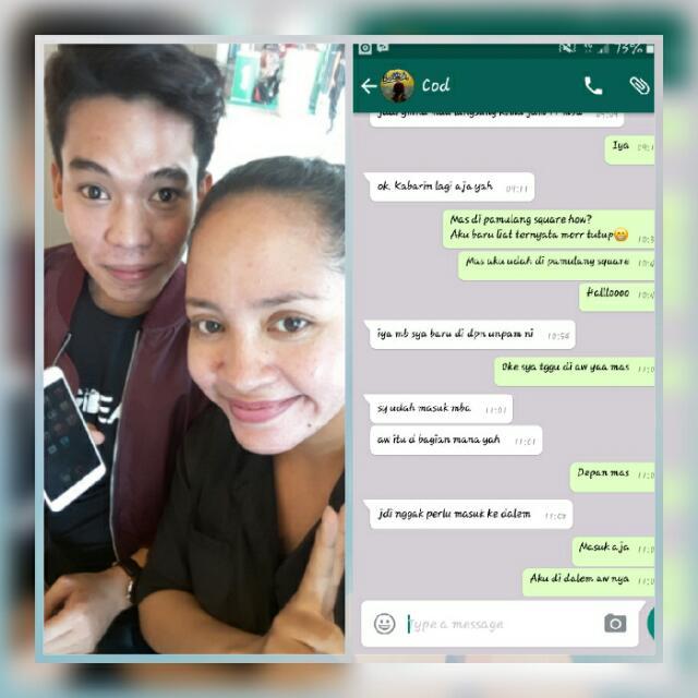 SOLD By COD Oppo F1 S...meet Up With Buyer Yg Baik Hati N Gk Pake Nawar😂😍thank You Ya Dear😘