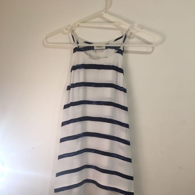 Striped Top [Size 8]