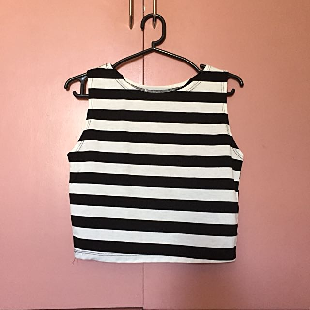 Stripes B&W Top