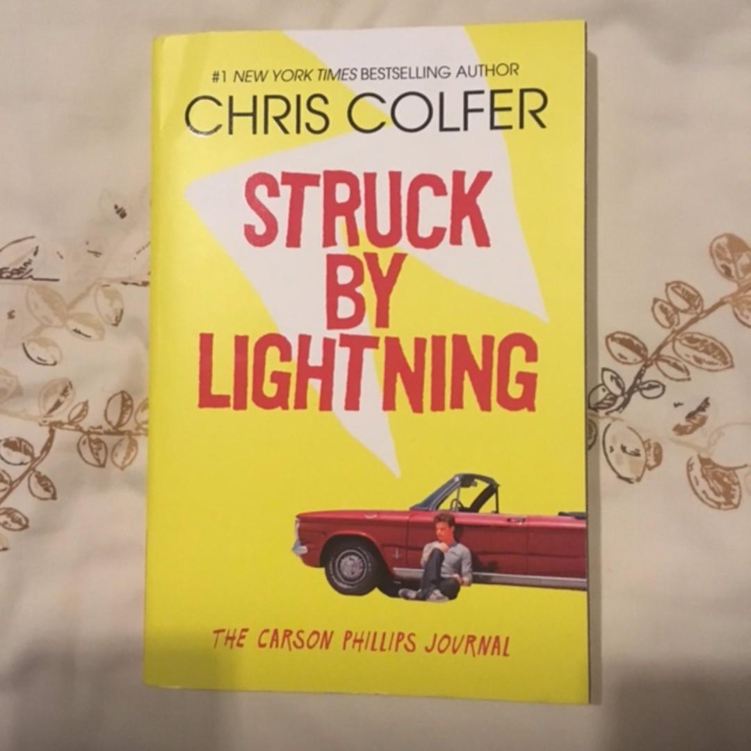 Struck By Lightning Chris Colfer (ENGLISH)