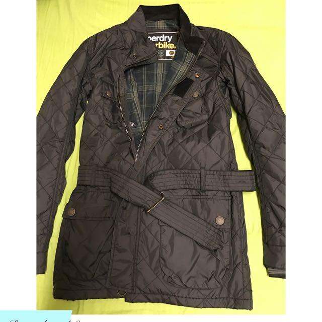 Superdry 極度乾燥 長版 風衣外套