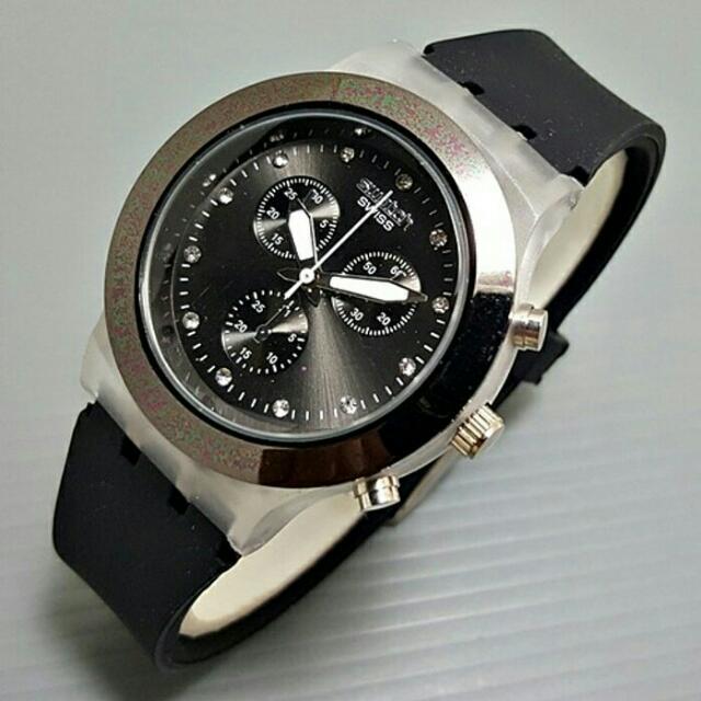 Swatch chrono diamond