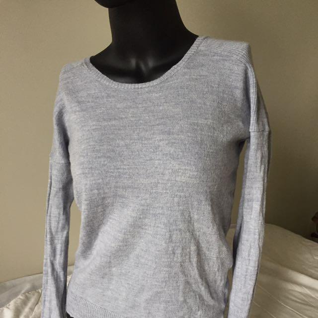 TAHARI Merino Wool Sweater S
