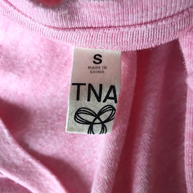 TNA Pink Long Sleeve
