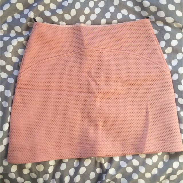 Topshop Pink Skirt