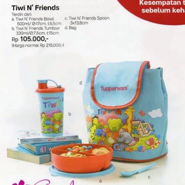 Tupperware Tiwi Set