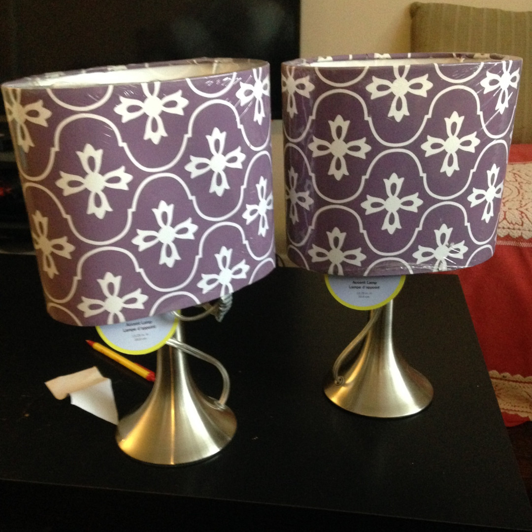 Two Accent Lamps!