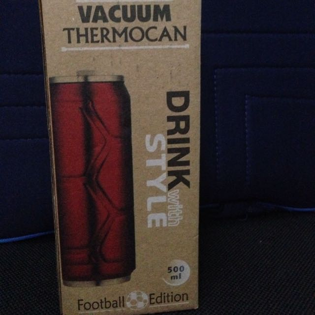 VACUUM THERMOCAN DRINK Football Edition