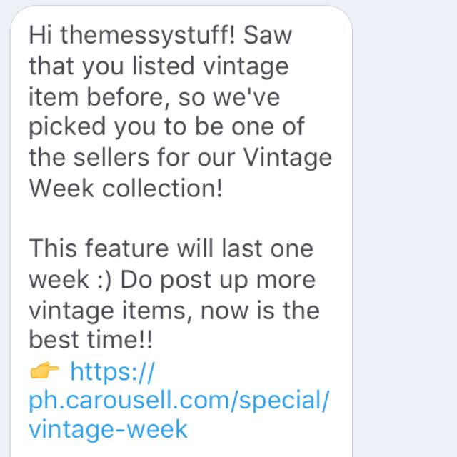 VISIT THE VINTAGE WEEK COLLECTION NOW❤️