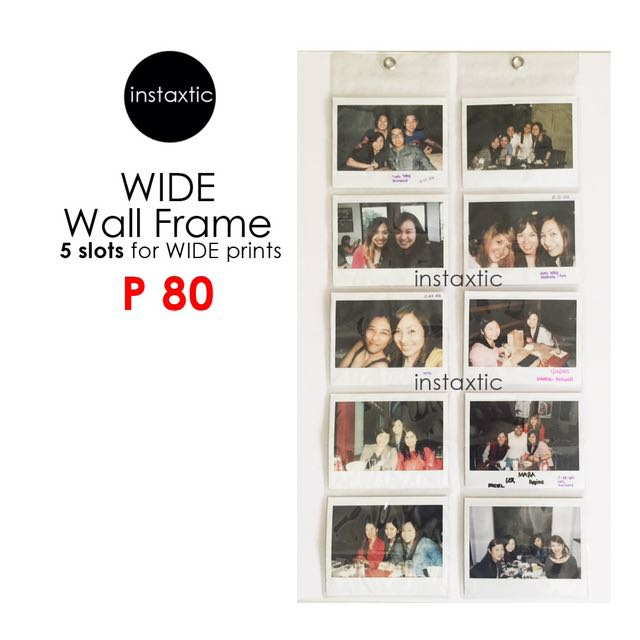 Wall Frame For Instax Wide Prints