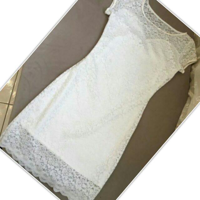 CLEARANCE SALE - White Dress