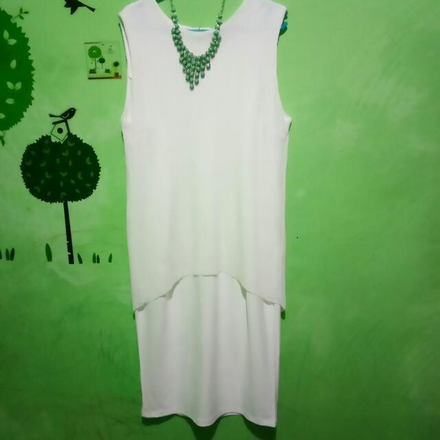 White Dress (Local Brand) - New