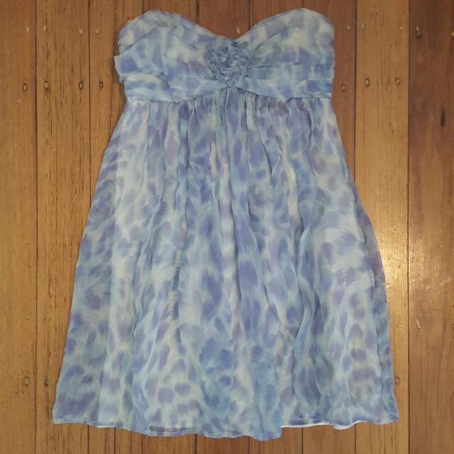 Wish Strapless Dress Size 10