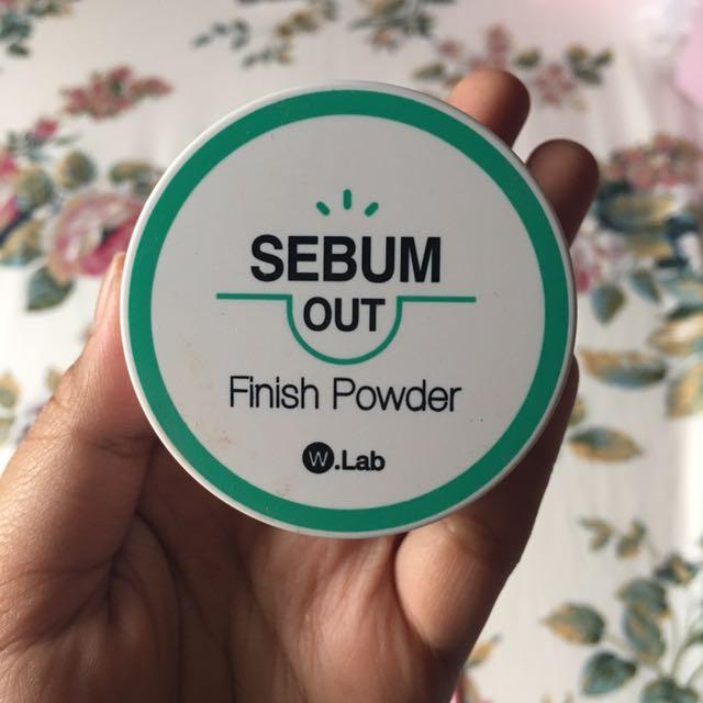 W-lab Sebum Out Finish Powder