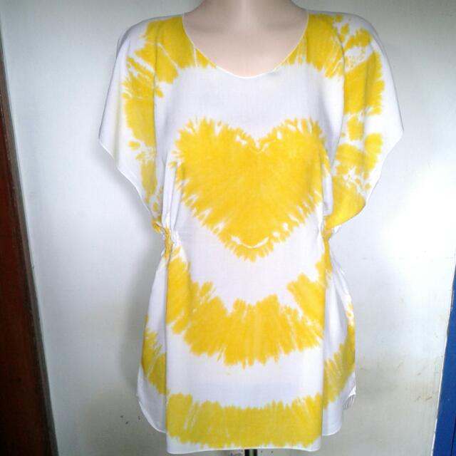 Yellow Tie Dye Shirt