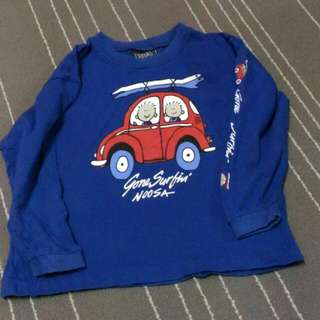 5-6 Yrs Old Boy Long Sleeves